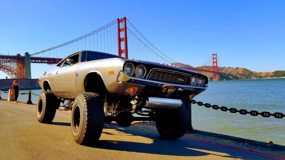 Grow A Pair And Buy This Lifted 1972 Dodge Challenger The Drive