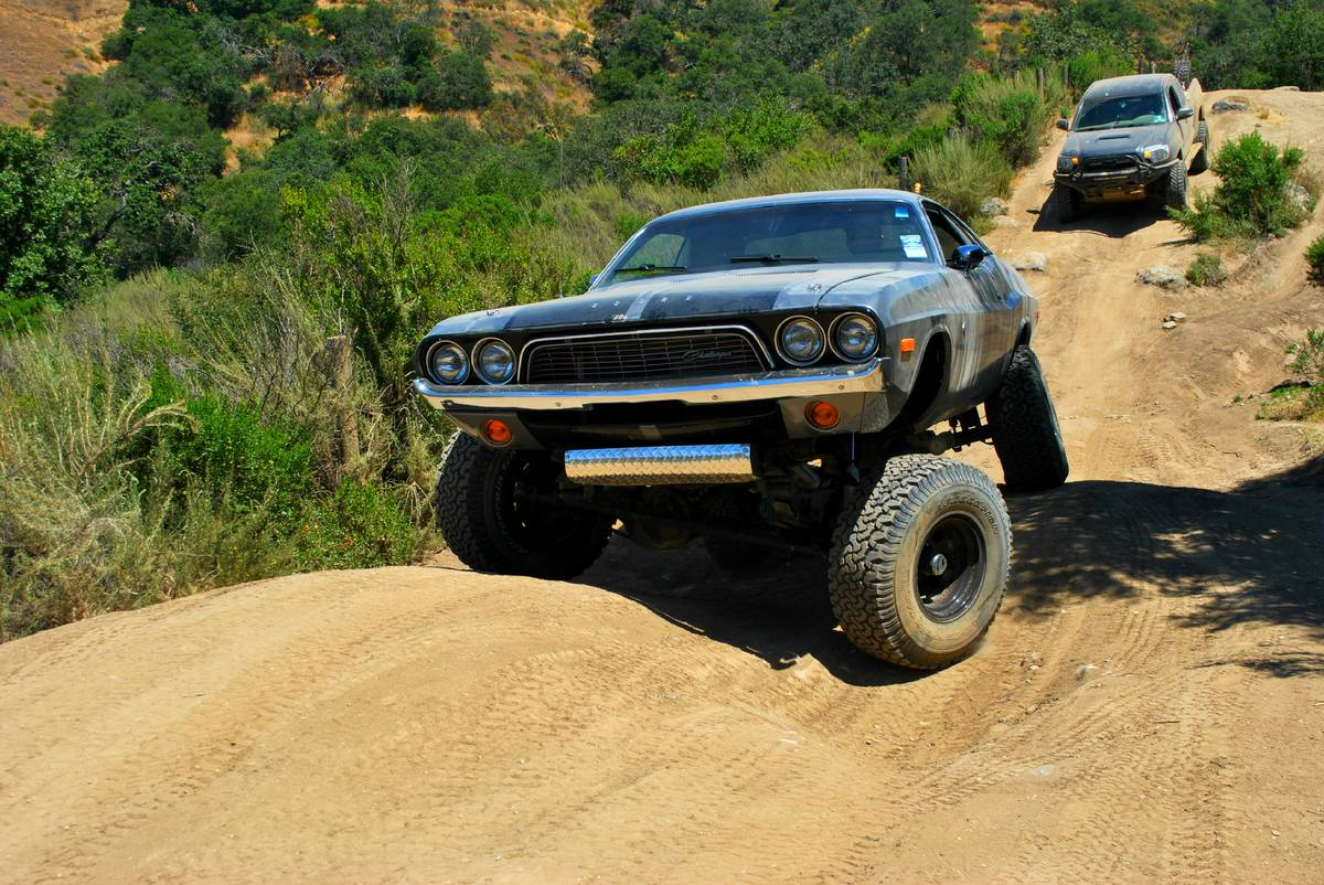 Grow a Pair and Buy This Lifted 1972 Dodge Challenger - The Drive