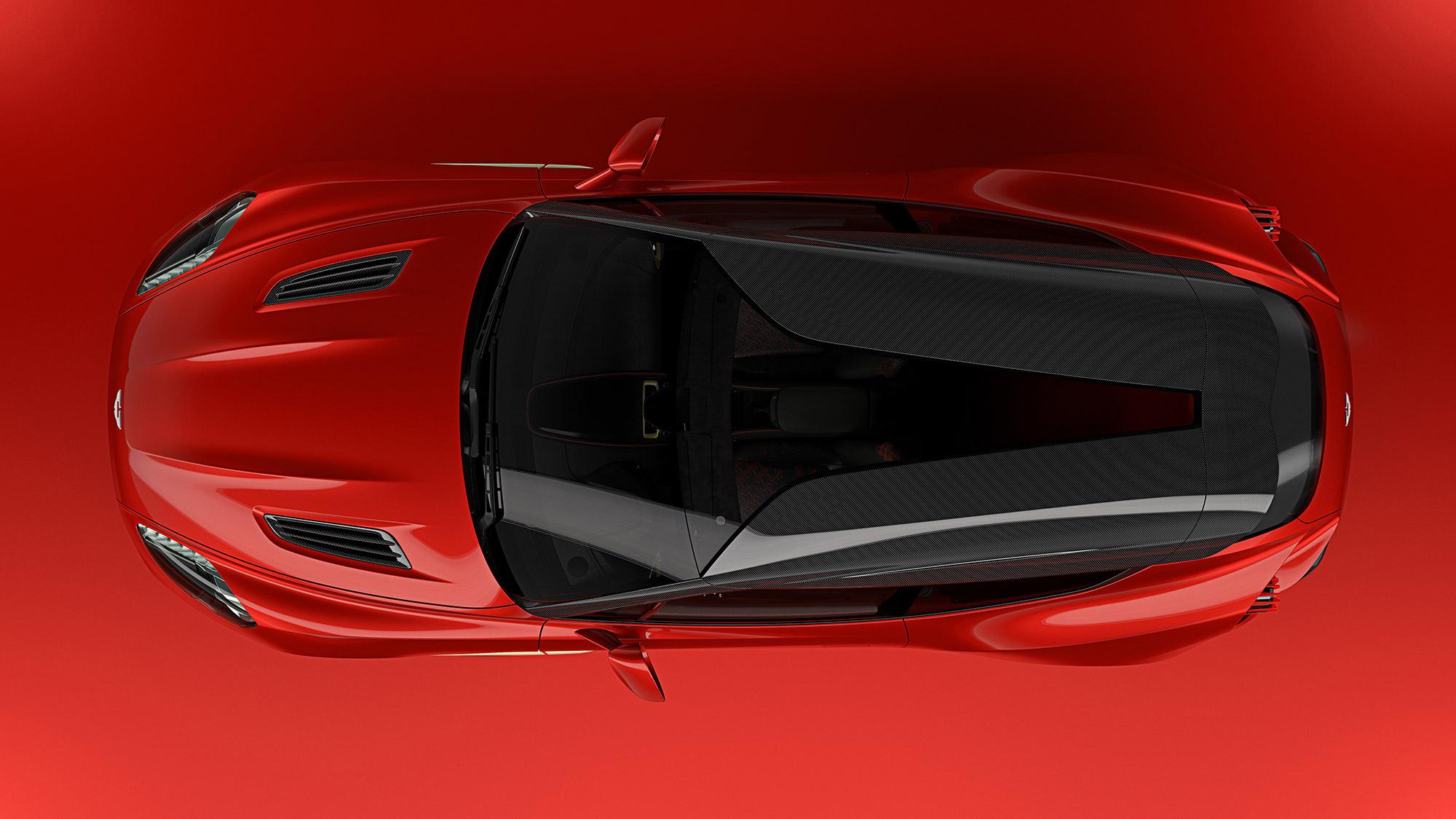 Aston Martin Vanquish Zagato Shooting Brake Revealed In All Its Sexy - New aston martin zagato