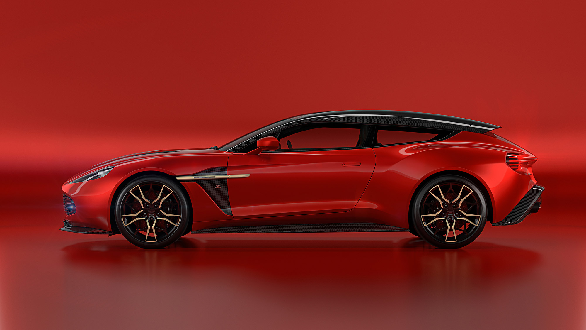aston martin vanquish zagato shooting brake revealed in all its