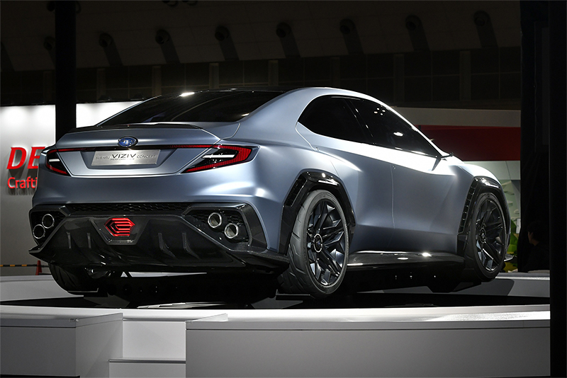 Nurburgring Lap Record >> New Subaru Concept Could Presage New WRX - The Drive