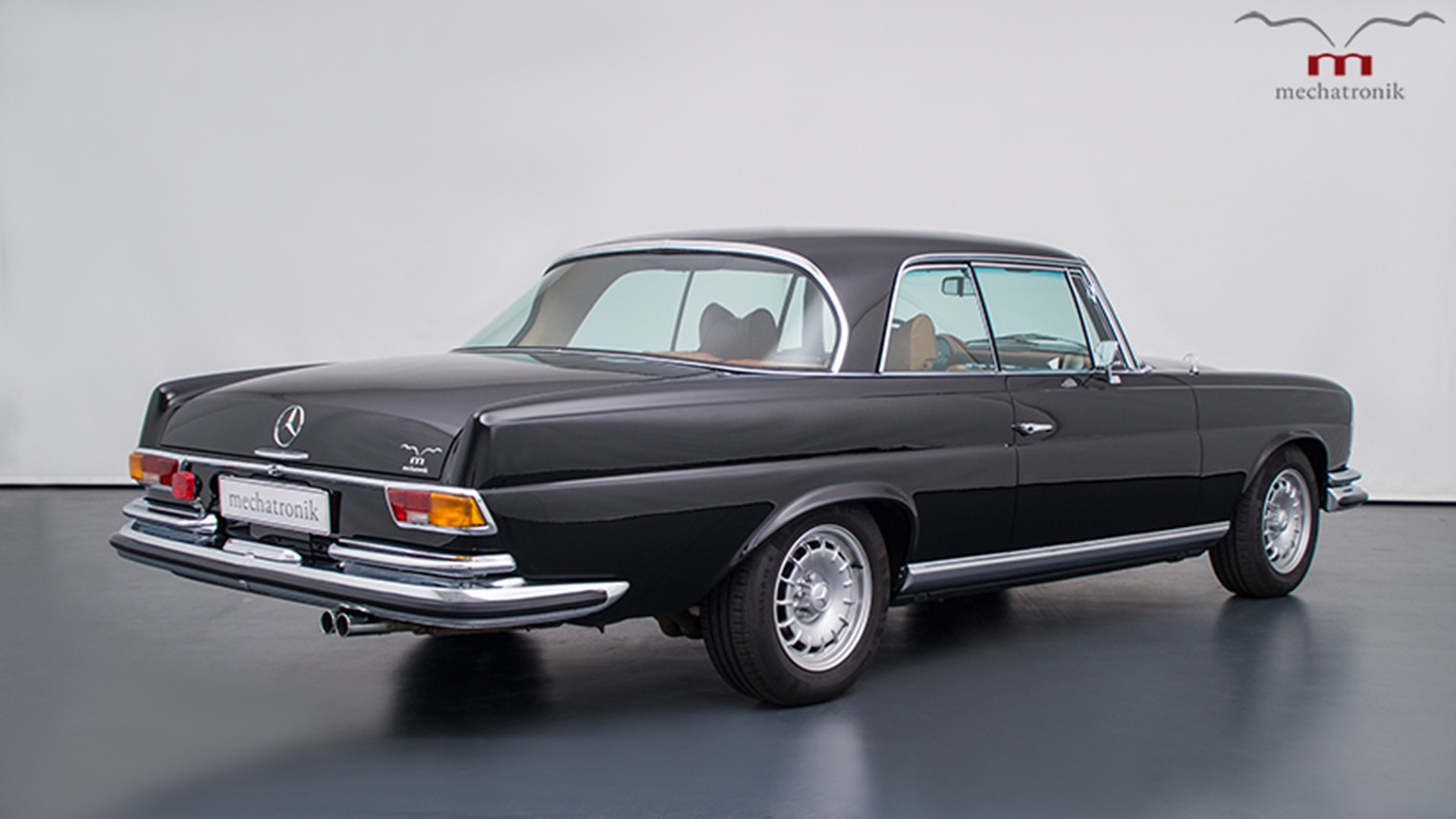 This 1970 Mercedes W111 Is a Gorgeous Sleeper Restomod Rocking an