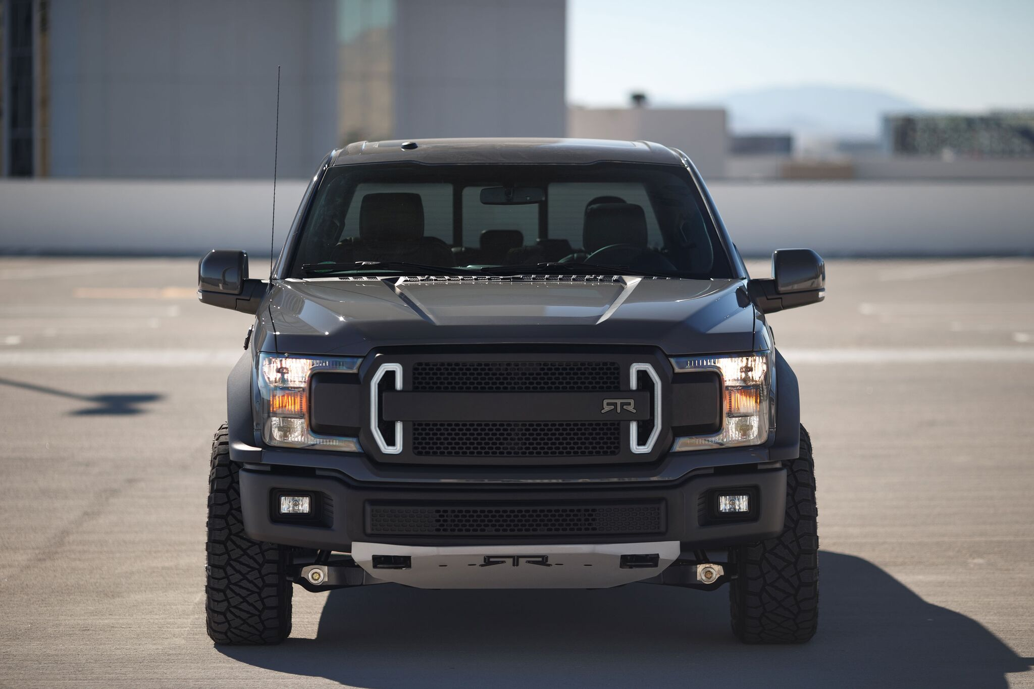 horsepower ford   rtr concept   muscular jack   trades  drive