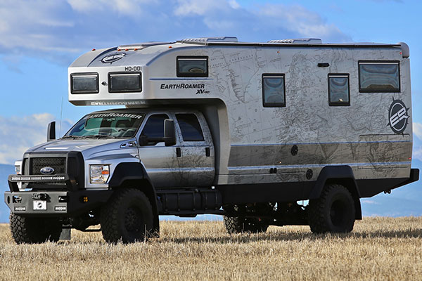 The Ford F-750-Based EarthRoamer XV-HD Is A $1.5 Million