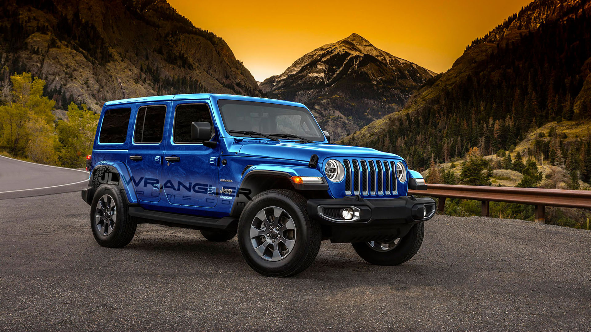 Wrangler Jl Ocean Paint Color