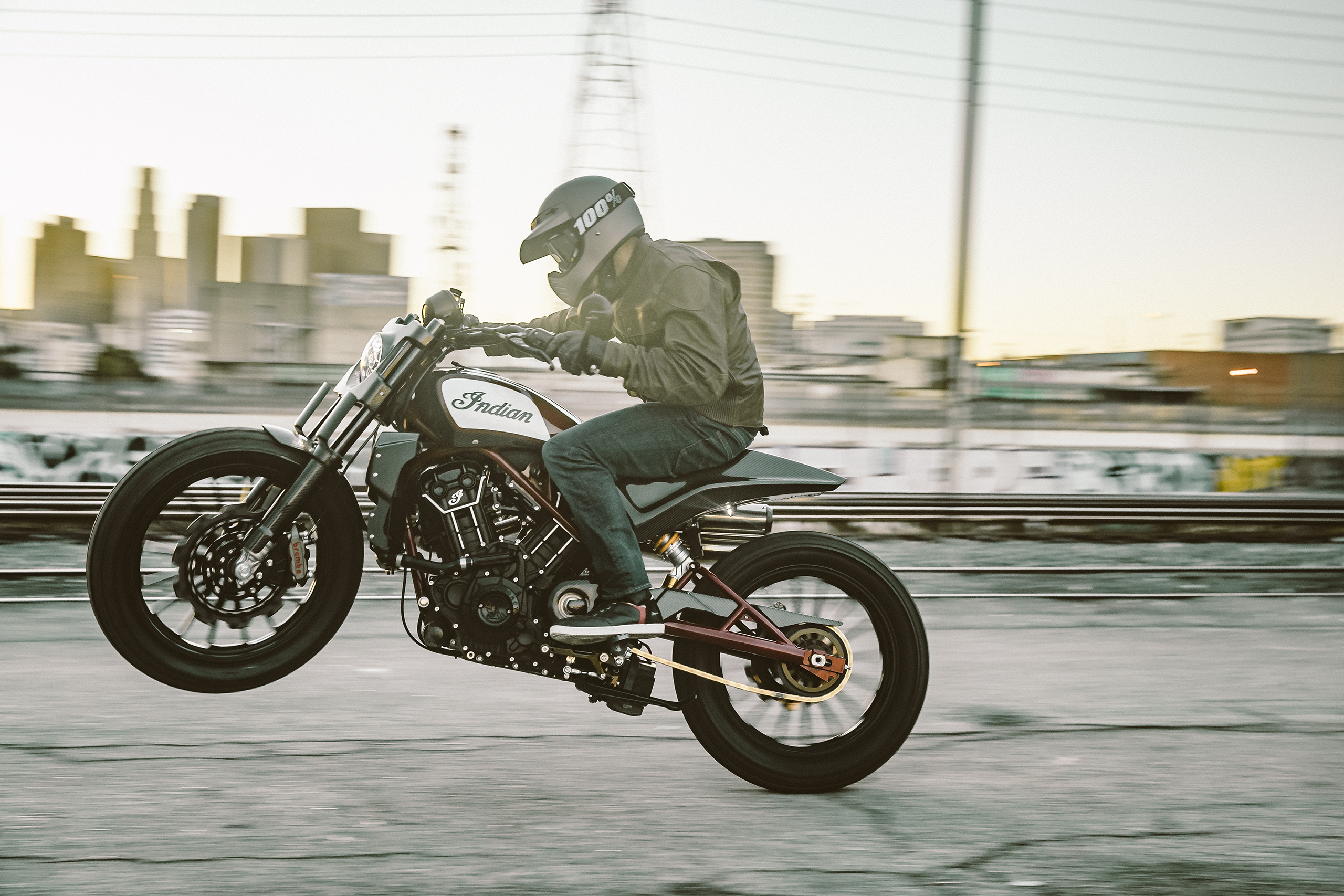 The Indian Scout FTR1200 Custom Is Street Legal Flat Track Bike Of Our Dreams