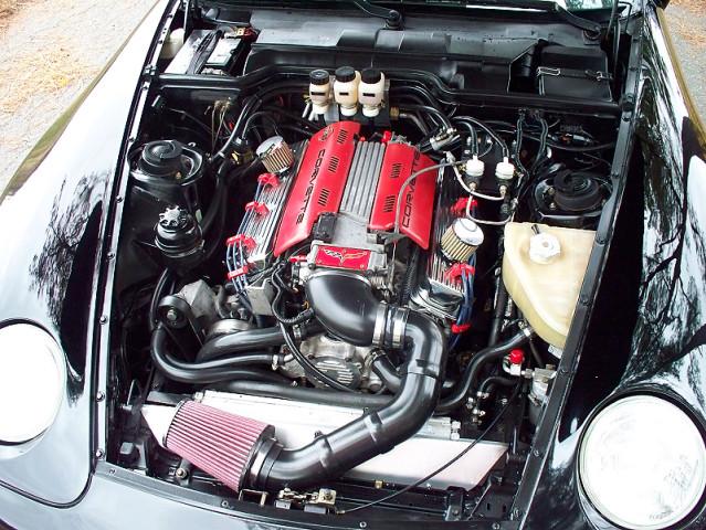 This Porsche 968 Features a Corvette LT1 Engine - The Drive