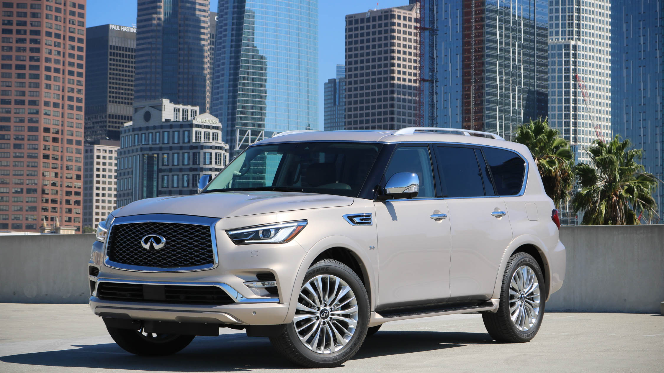 The Infiniti Qx80 Has Never Looked This Good The Drive