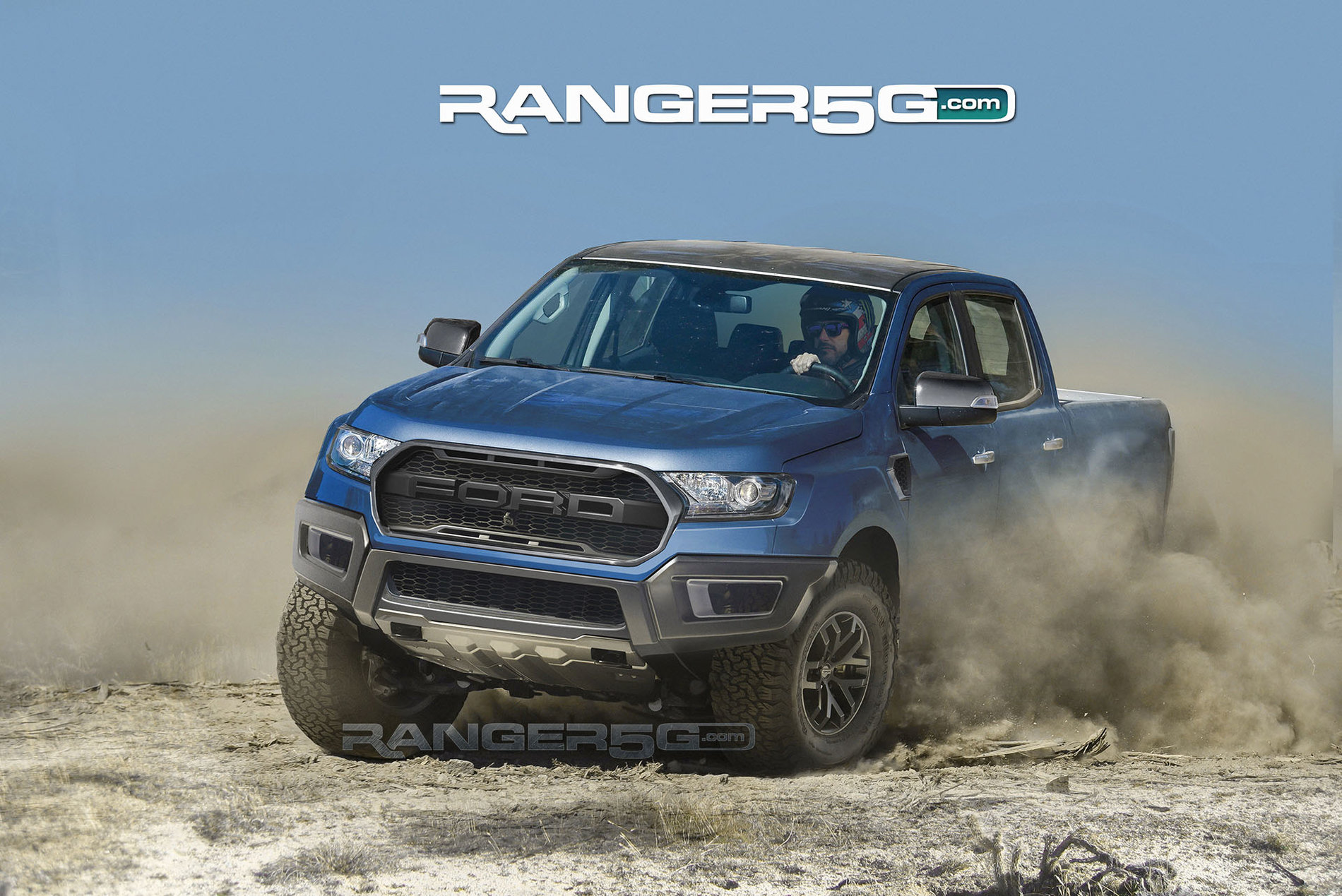 Nova Silverado >> Awesome Ford Ranger Raptor Renderings Show Off Kickass Color Choices - The Drive