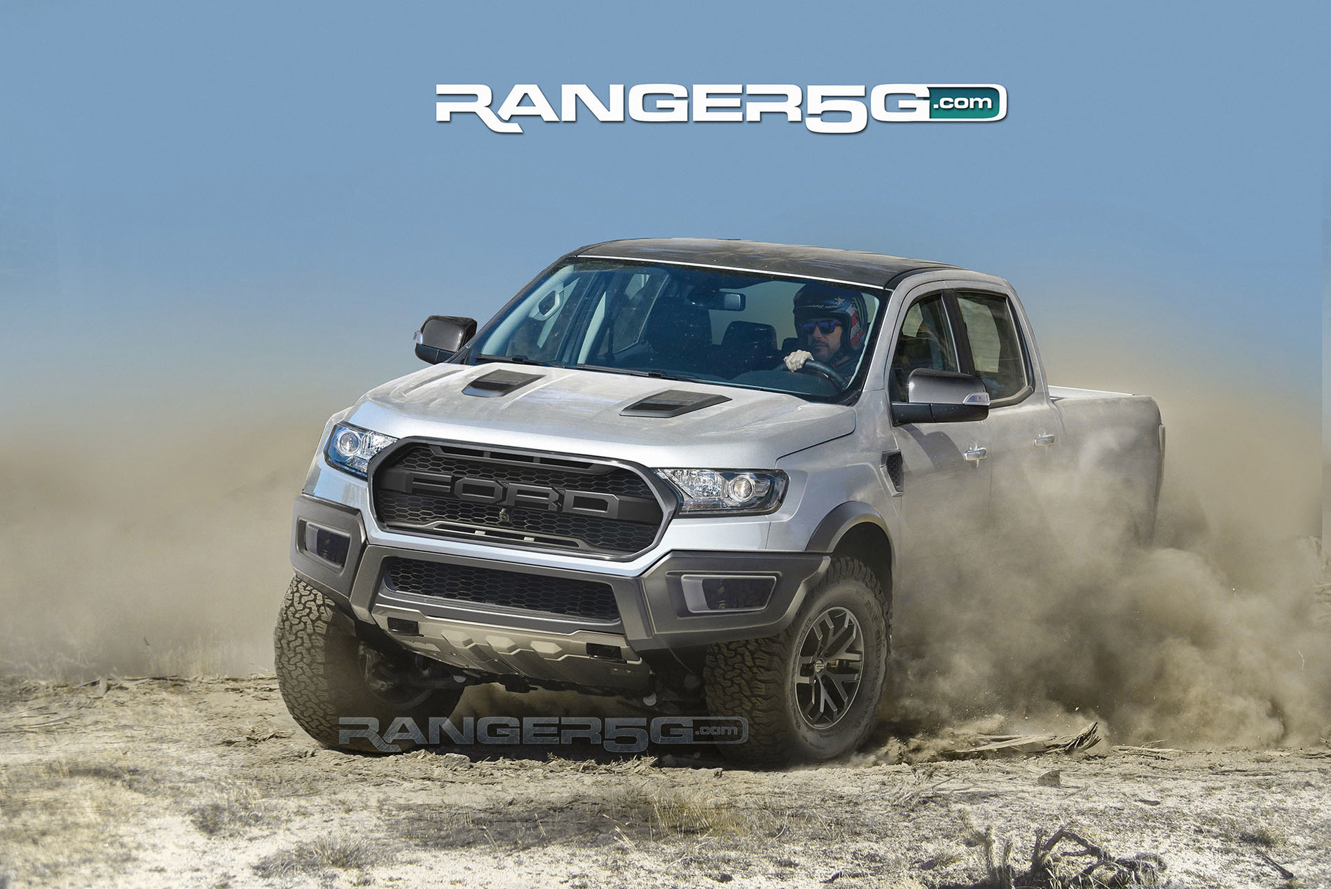 Awesome Ford Ranger Raptor Renderings Show Off Kickass ...