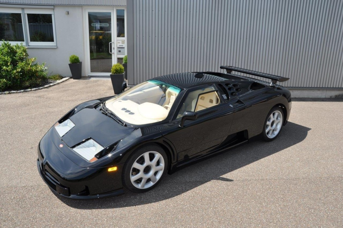 There S A Rare Bugatti Eb 110 Super Sport For Sale In