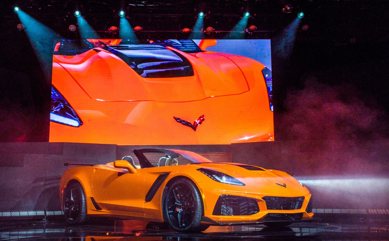 2019 Chevy Corvette Zr1 Convertible Is Happening Could Be Yours For 123 995