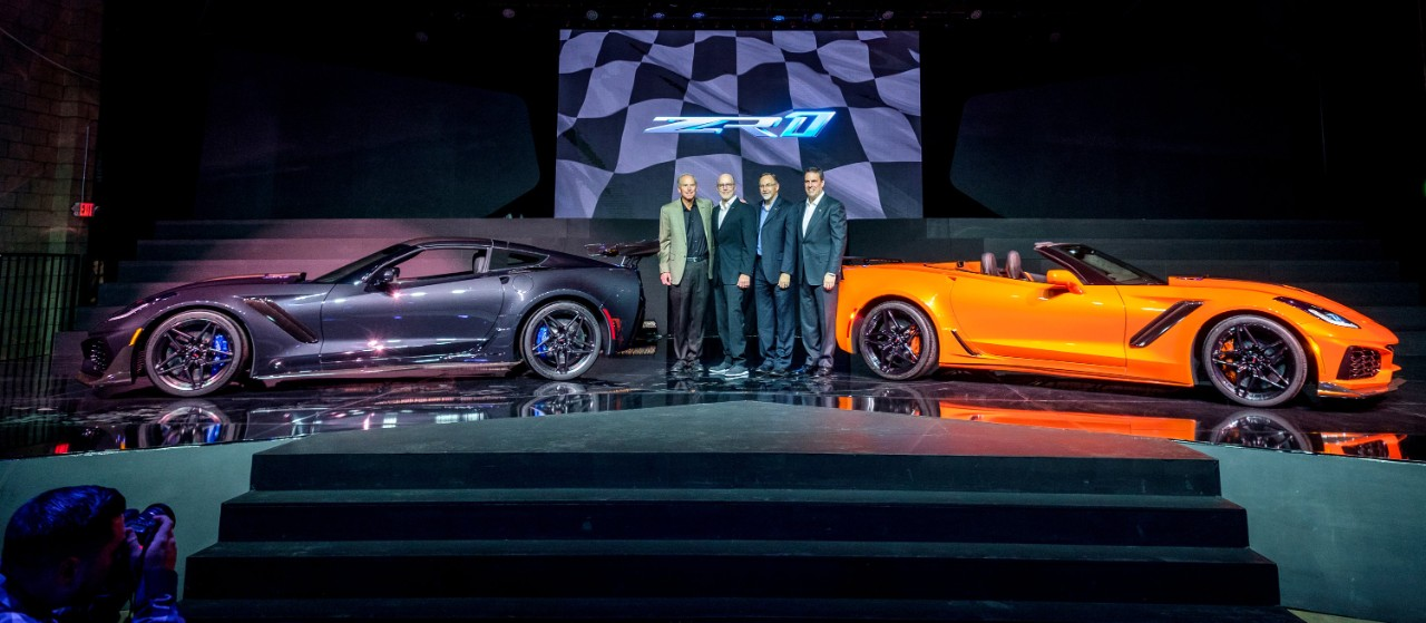 2019 Chevy Corvette ZR1 Convertible Is Happening, Could Be ...