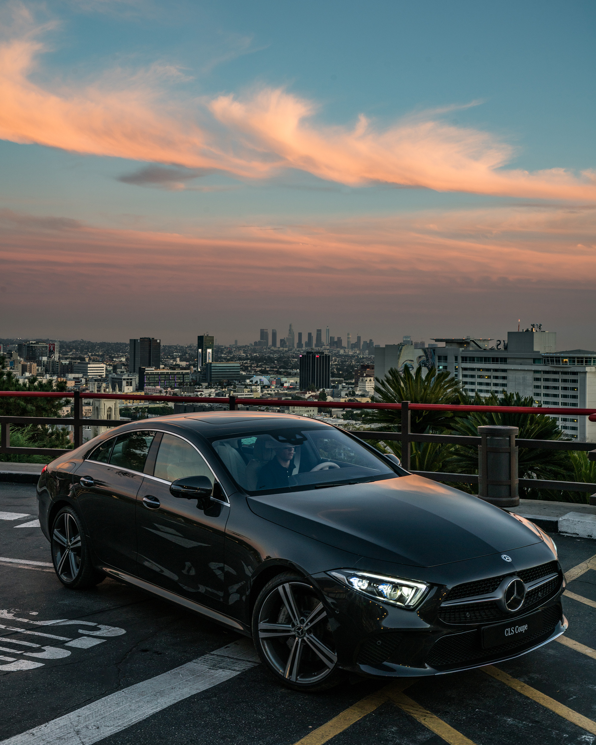 2019 Mercedes-Benz CLS-Class In Beverly Hills During L.A