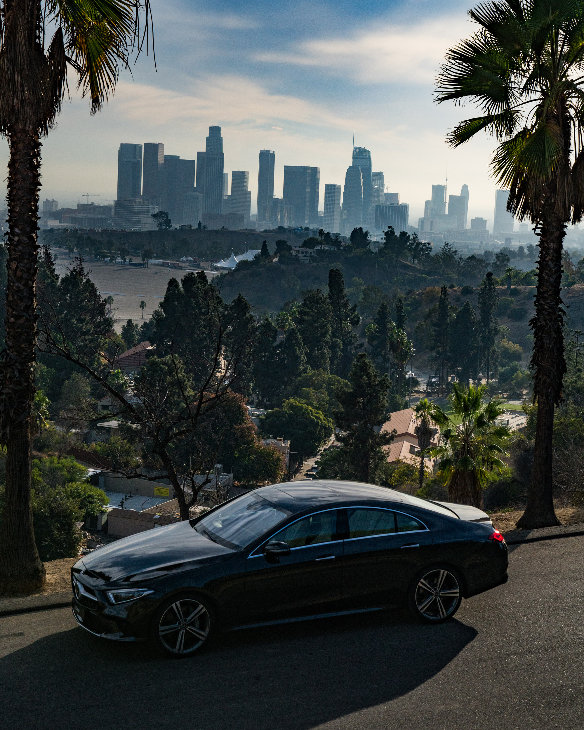 2019 Mercedes Benz Cls Class: 2019 Mercedes-Benz CLS-Class In Beverly Hills During L.A
