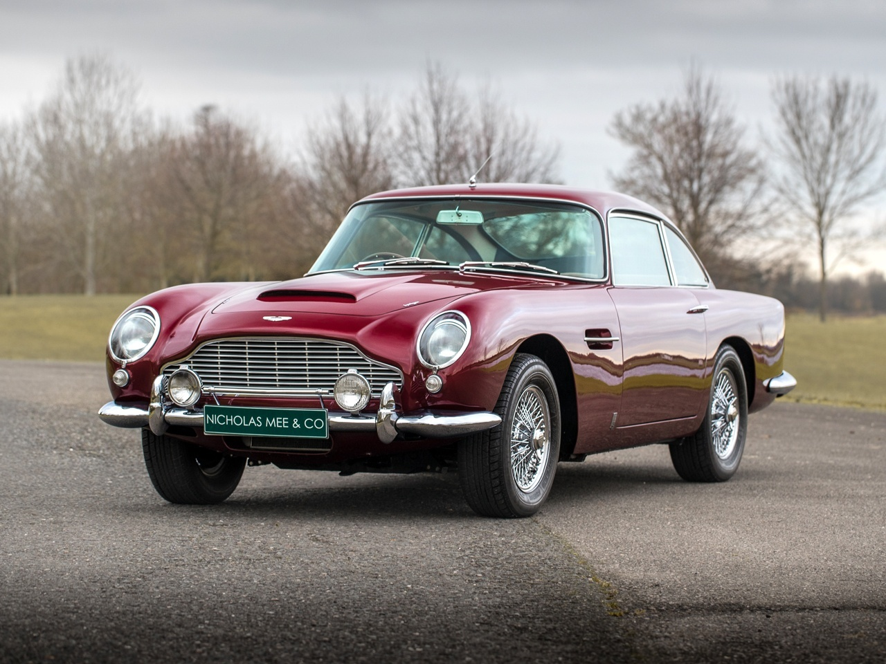 1965 Aston Martin Db5 Owned By Led Zepplin Frontman Robert Plant Is