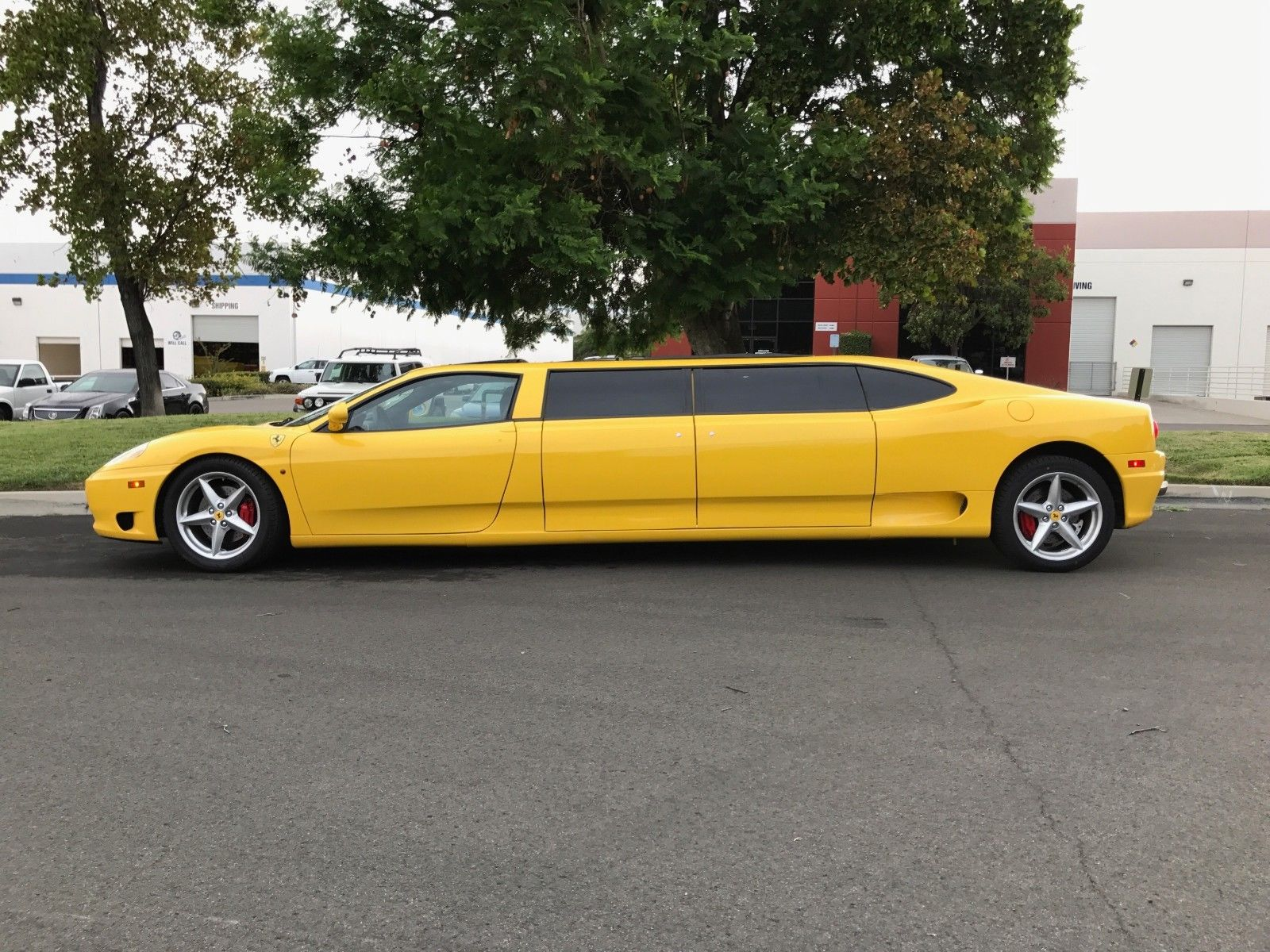 You Can Bid On A Ferrari 360 Limo On Ebay The Drive