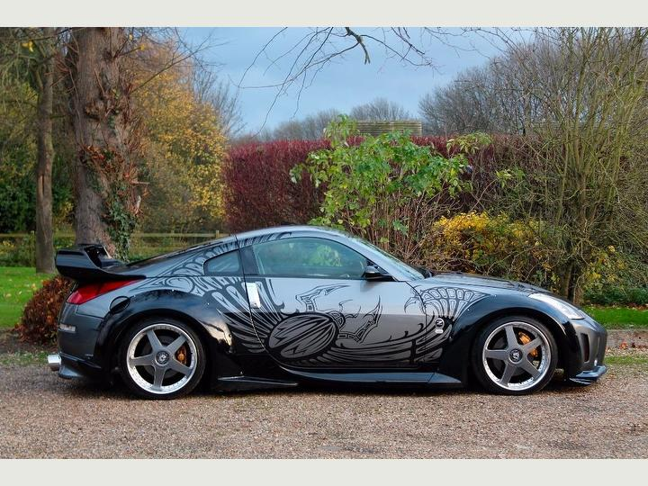 nissan 350z from the fast and the furious: tokyo drift is selling