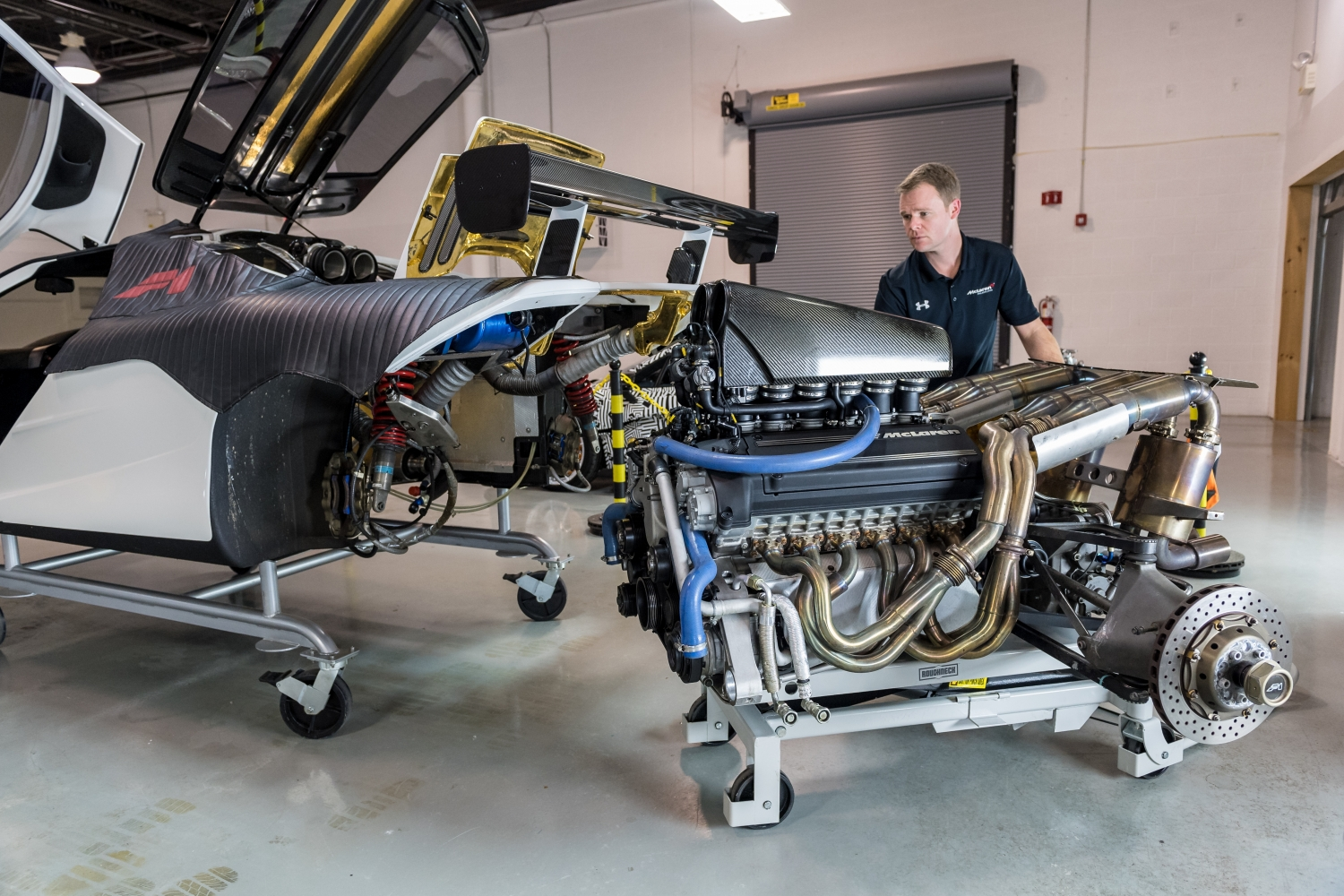 First North American Mclaren F1 Service Center Opens In