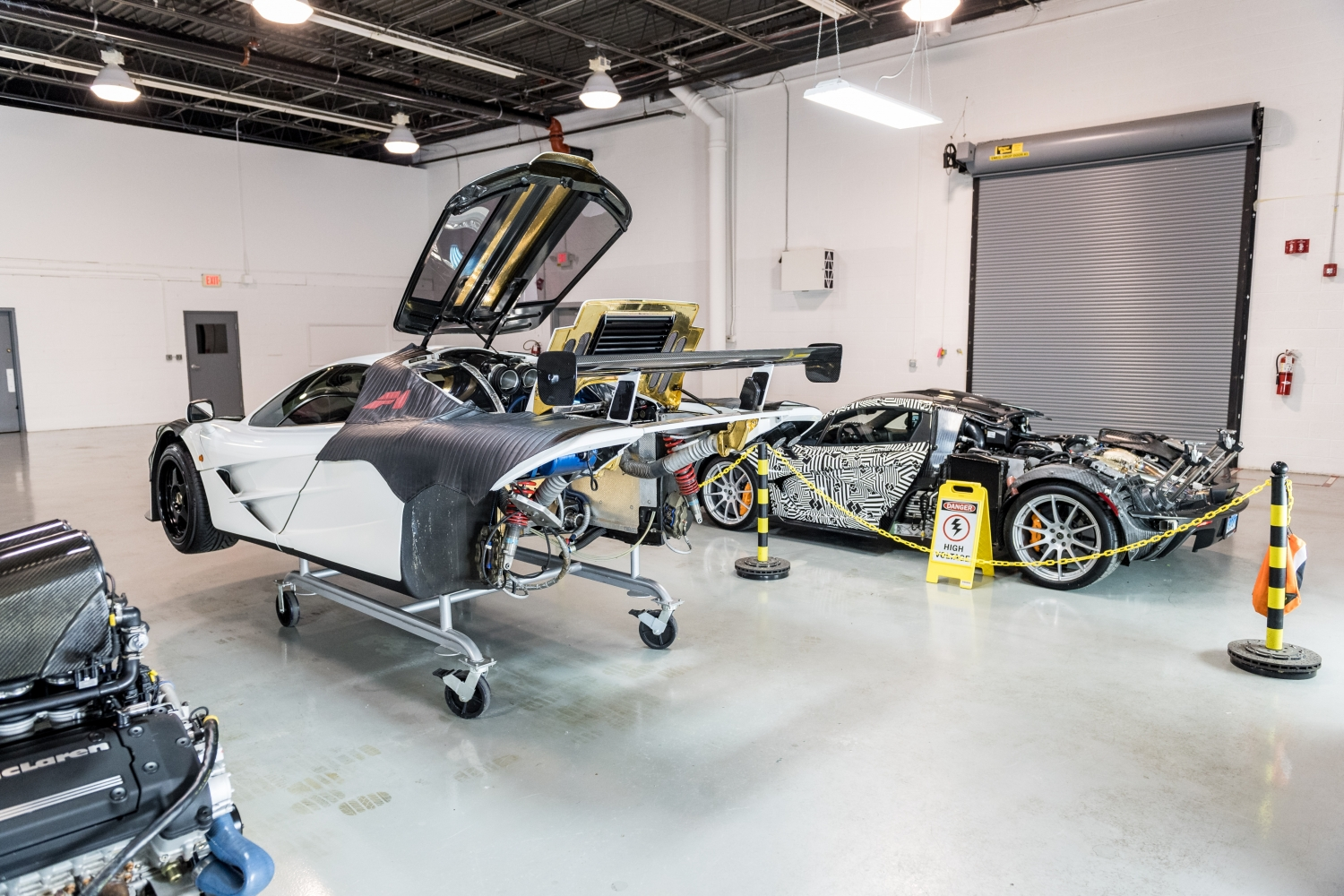 first north american mclaren f1 service center opens in philadelphia