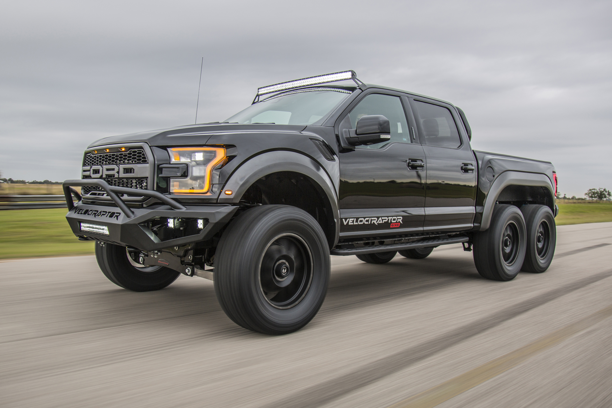 Hennessey Will Now Sell You a VelociRaptor 6×6 - The Drive