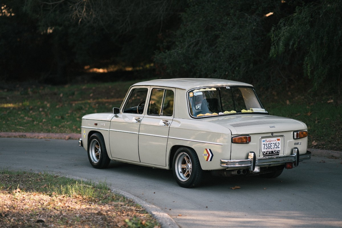 This Imported Renault 8 Makes a Great Vintage Rally Car - The Drive