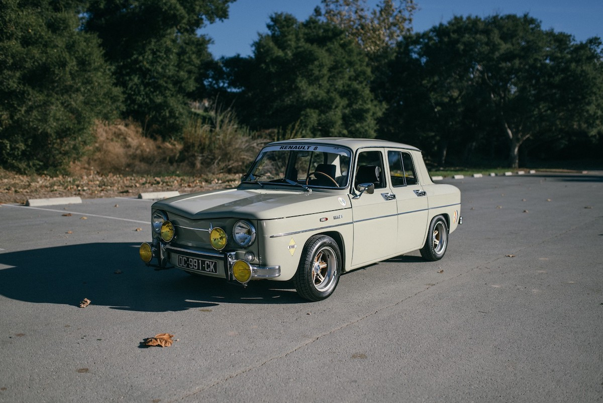 This Imported Renault 8 Makes A Great Vintage Rally Car