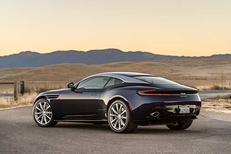 2018 Aston Martin Db11 V8 Driving The Lighter Aston Fantastic The