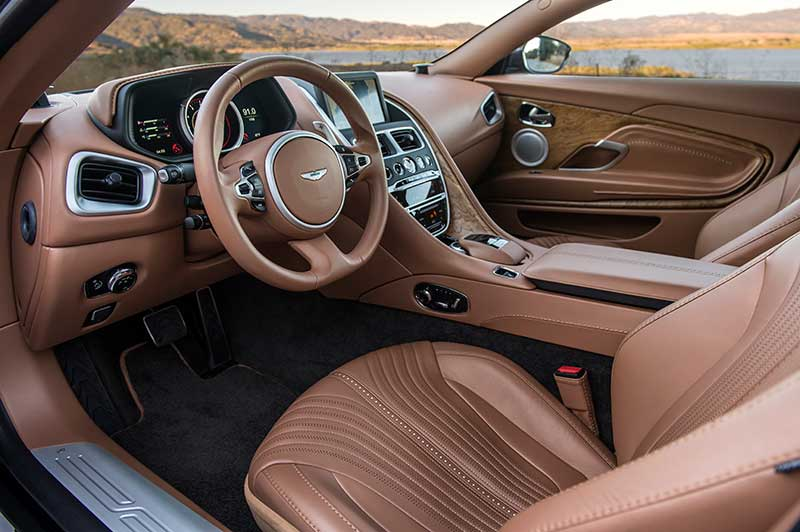 2018 Aston Martin Db11 V8 Driving The Lighter Aston Fantastic