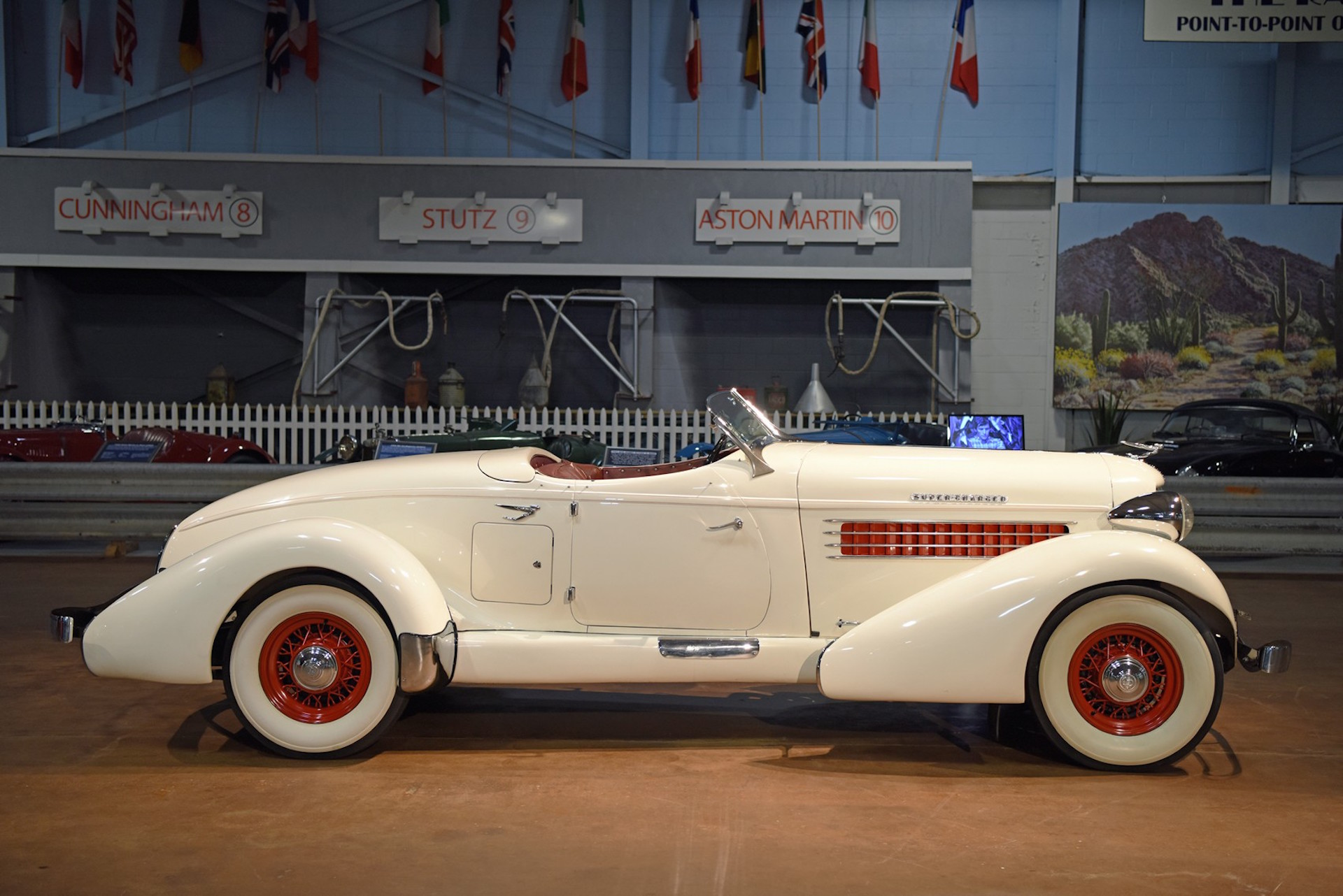 Vintage Car Posters and Vintage Cars on Display - The Drive