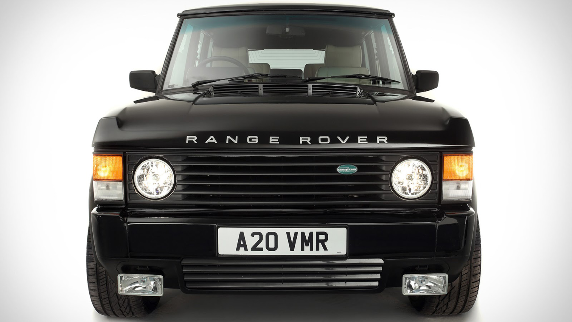 The Range Rover Chieftain Is a Classic Restomod With a