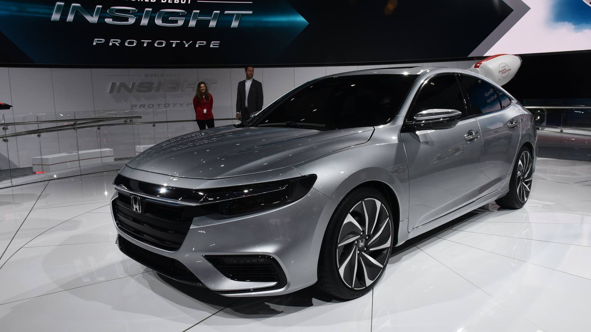 Honda shows off New Insight in Detroit - The Drive