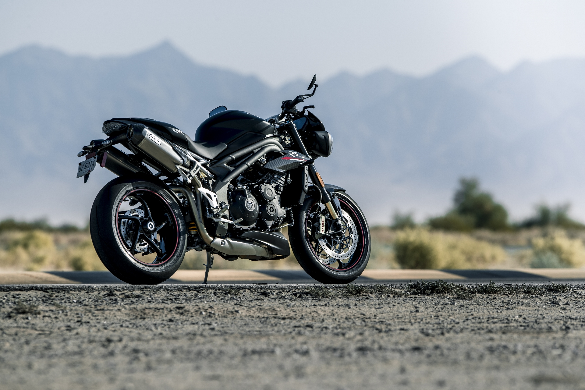 triumph unveils new speed triple s and rs the drive. Black Bedroom Furniture Sets. Home Design Ideas