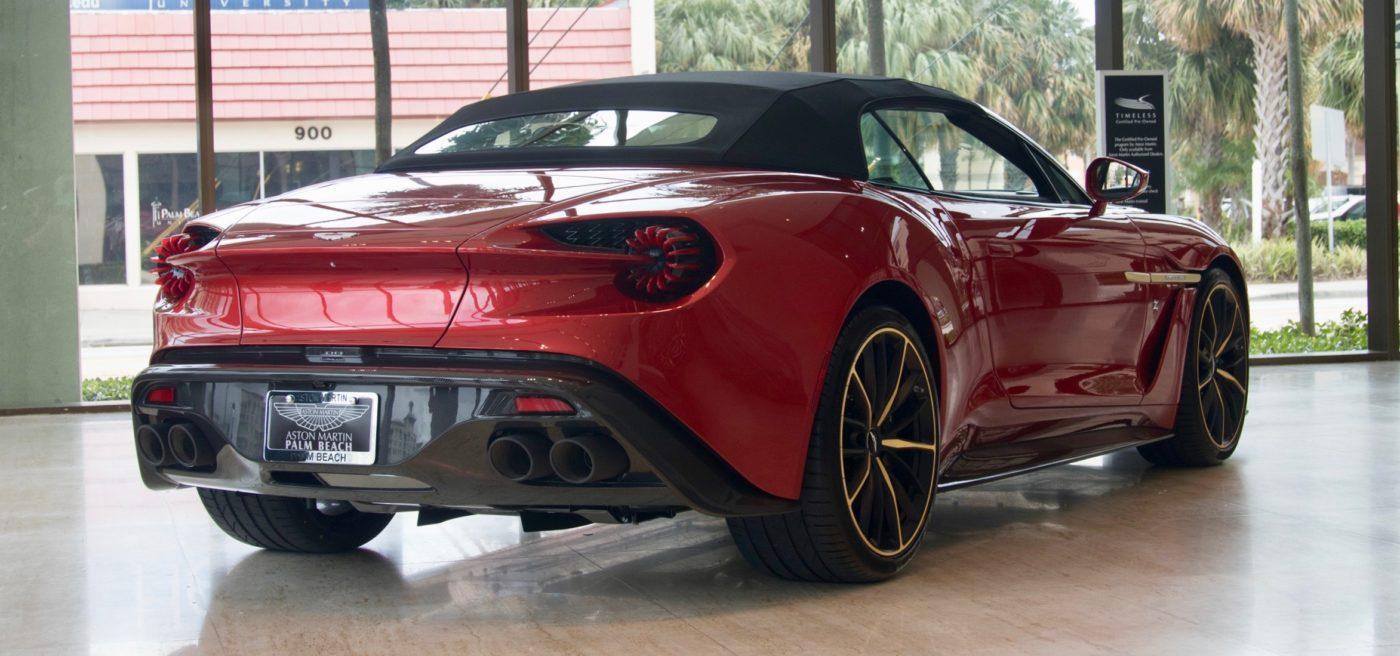 Rare Aston Martin Vanquish Zagato Volante For Sale The Drive - Aston martin vanquish zagato