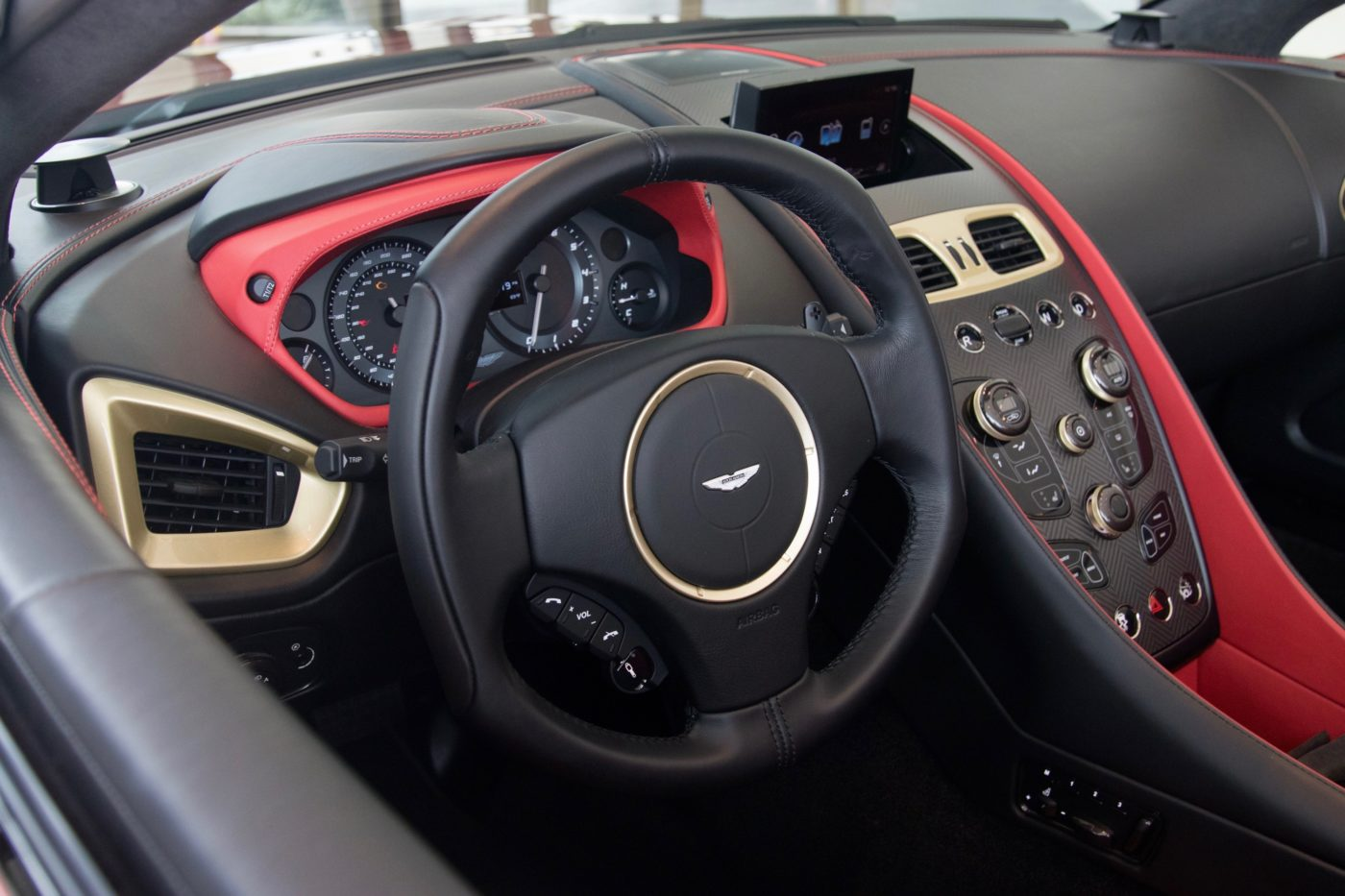 Rare Aston Martin Vanquish Zagato Volante For Sale The Drive