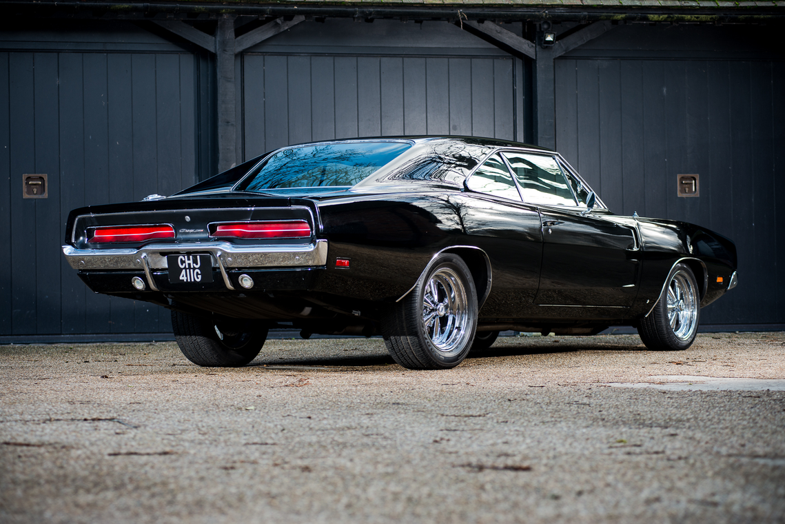 1969 Dodge Charger Bullitt Replica Once Owned By Bruce Willis Is