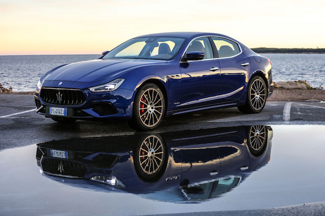 With The 2018 Maserati Ghibli The Italian Brand Looks To