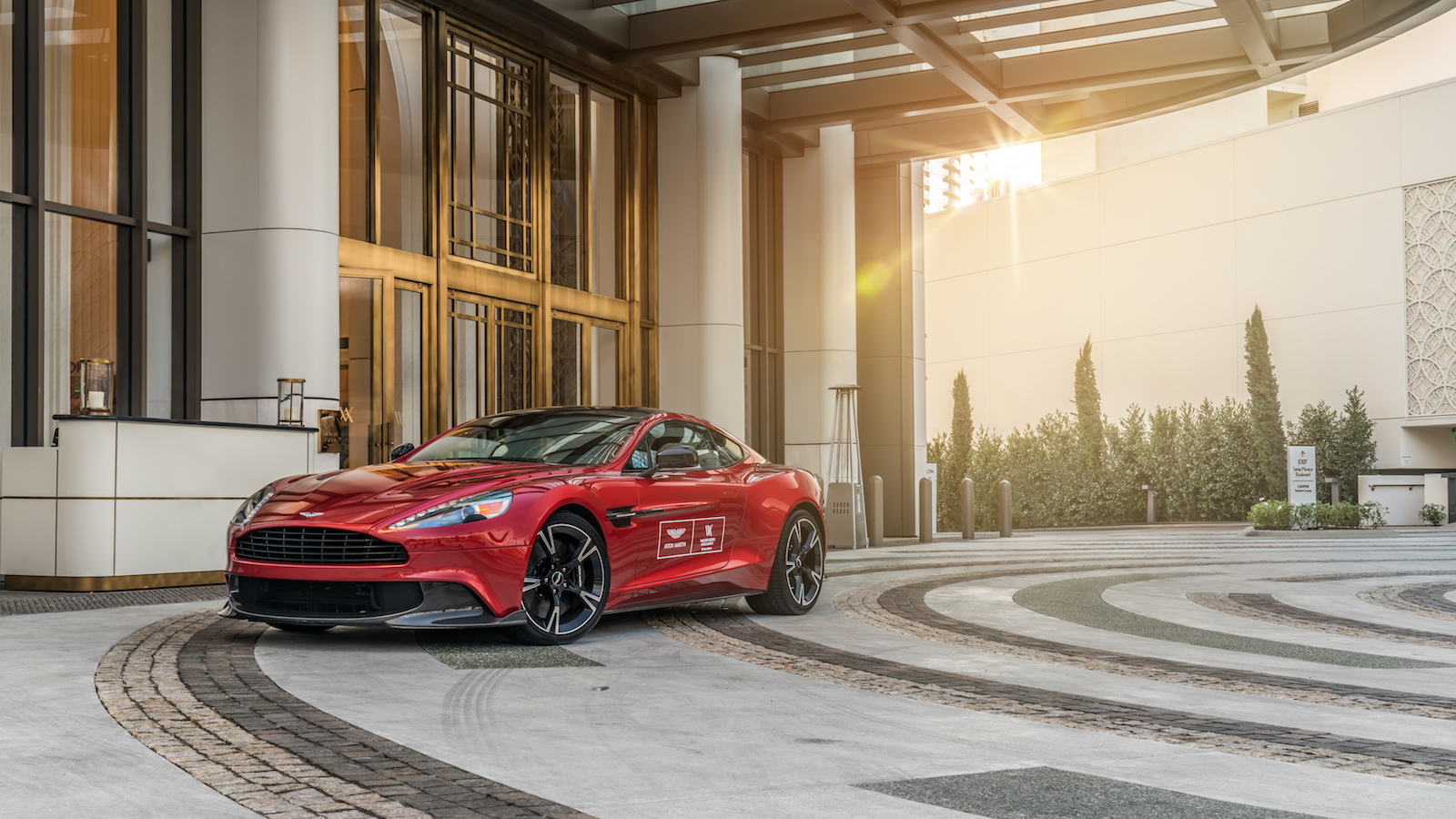 This Beverly Hills Hotel Gives You A Free Aston Martin To Drive - Rent aston martin los angeles