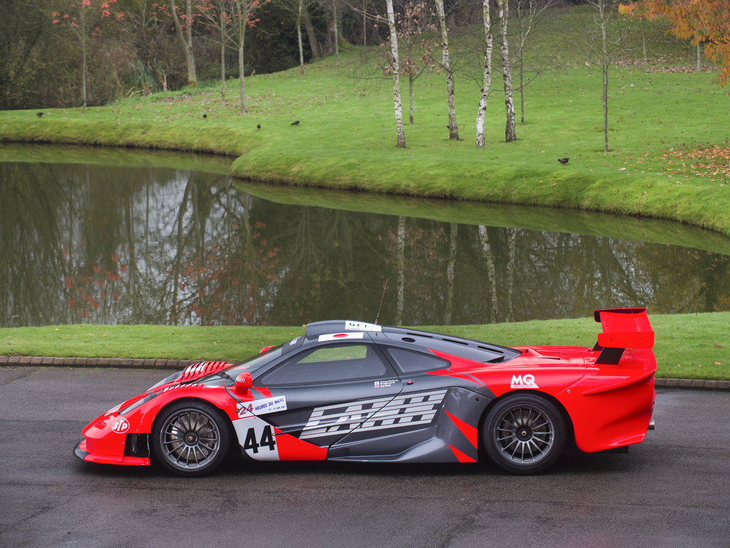 Rare McLaren F1 GTR Longtail for Sale - The Drive