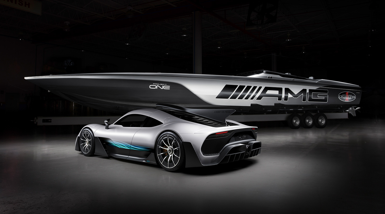 Ride Along In The Cigarette Racing Mercedes Amg Hypercar Inspired