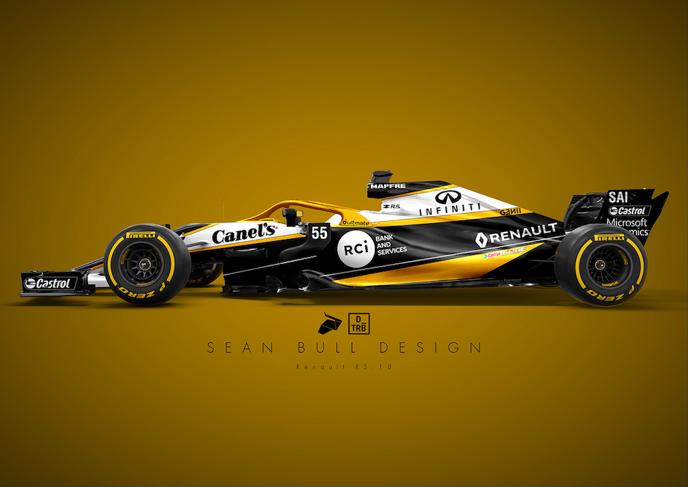 Formula 1: Here's How the 2018 Liveries Should've Looked - The Drive