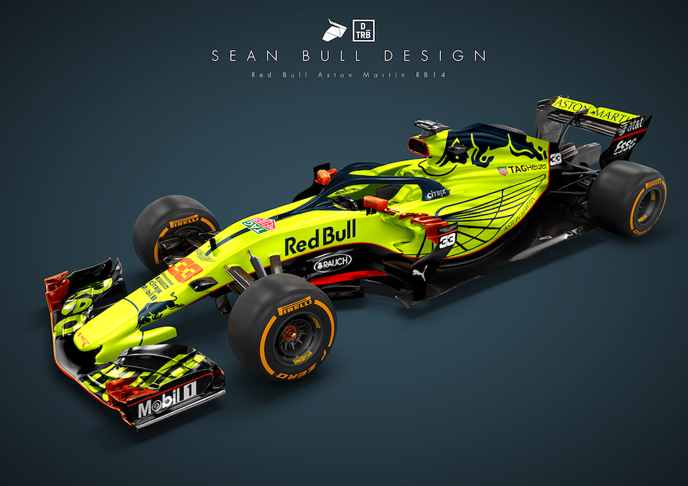 Formula 1: Here's How the 2018 Liveries Should've Looked