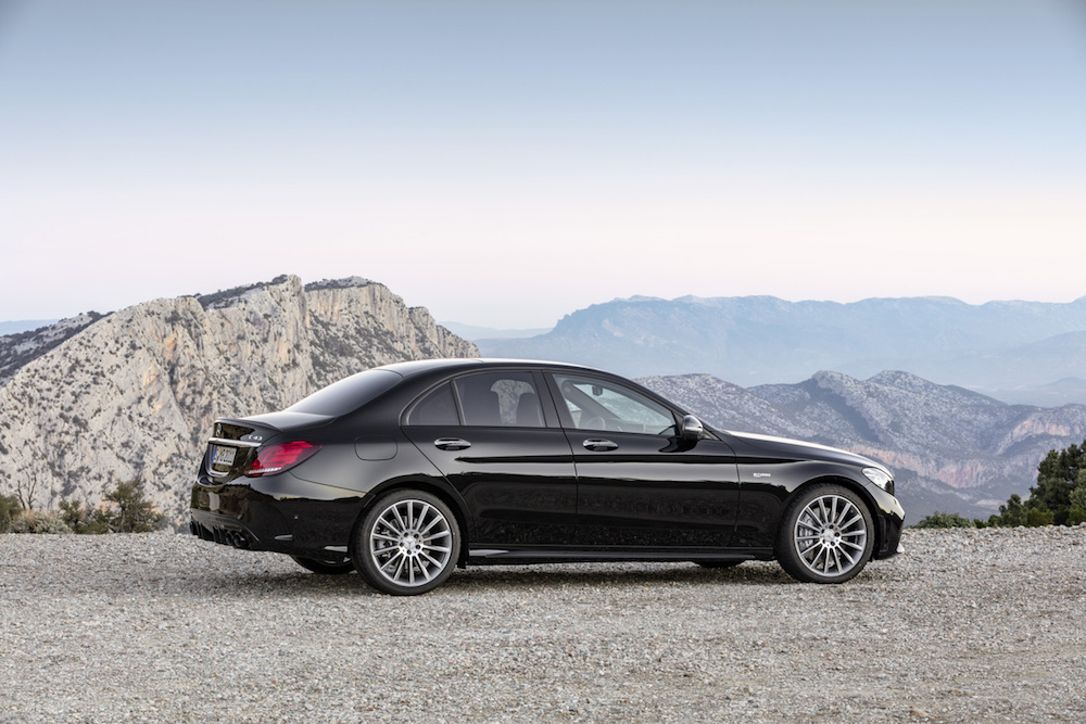 Mercedes-AMG Shows off the Updated C43 Sedan - The Drive