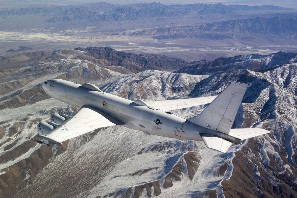 A Tornado Left The Usaf With Only One Active E 4b Doomsday Plane