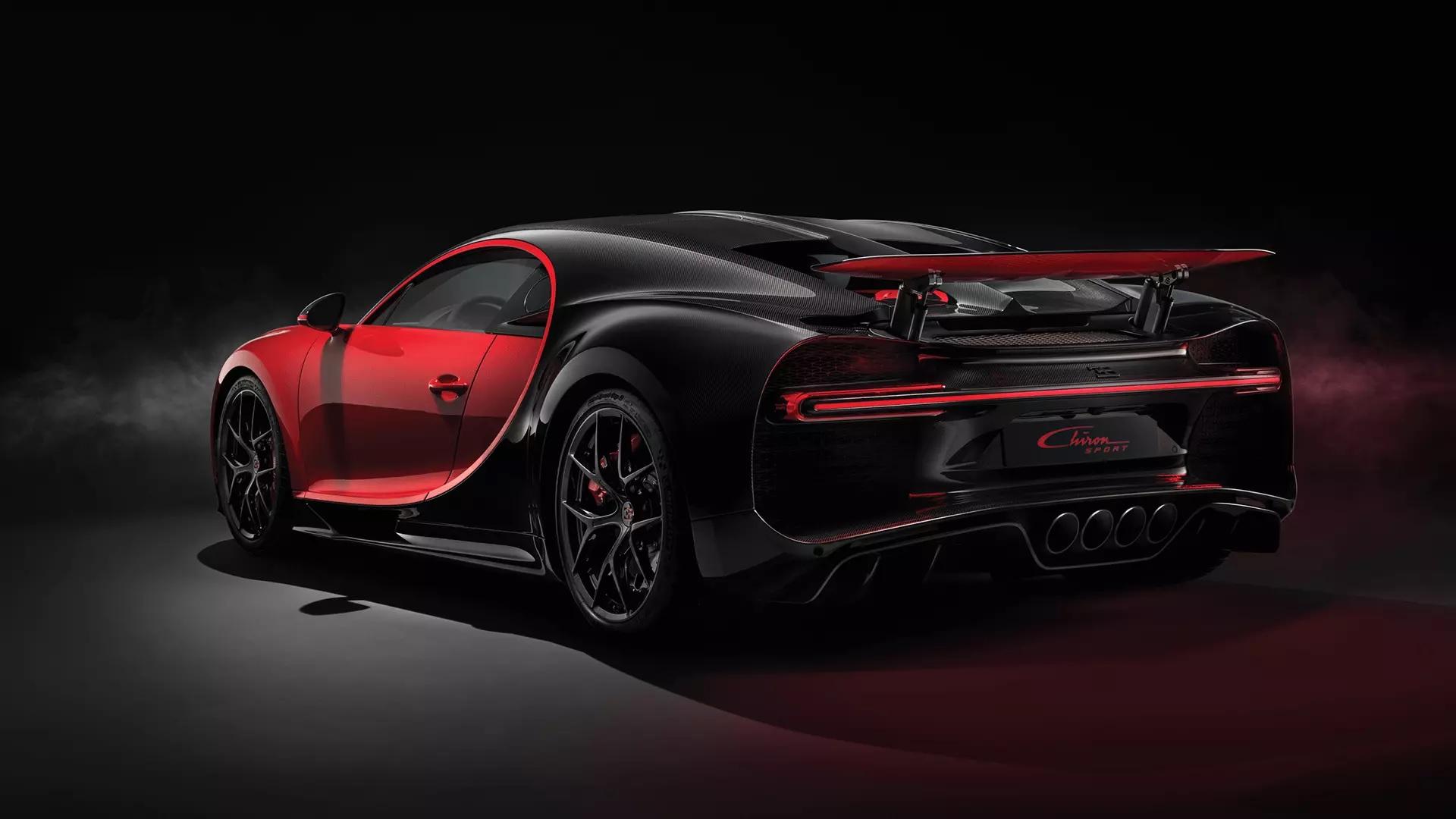 Bugatti Chiron Sport Debuts At Geneva Motor Show Better Handling