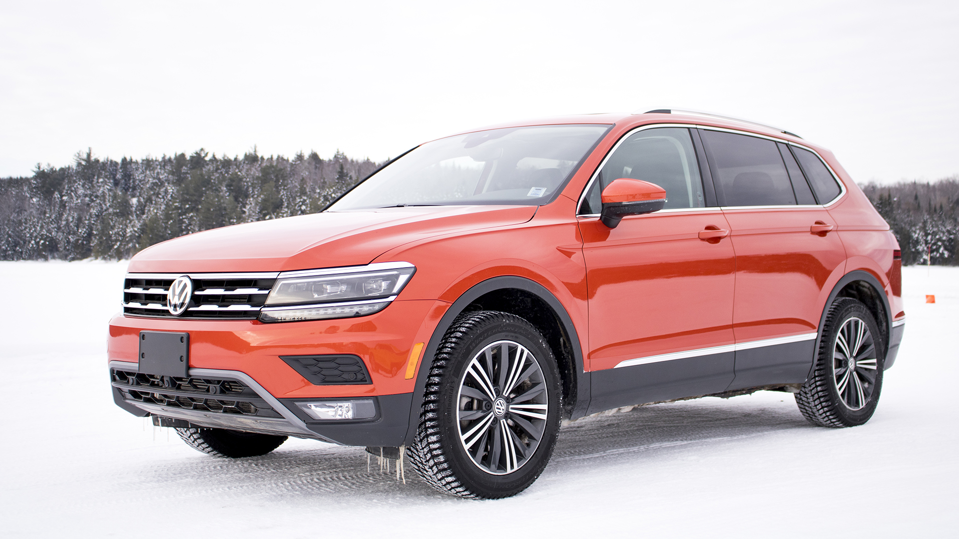 The 2018 Volkswagen Tiguan