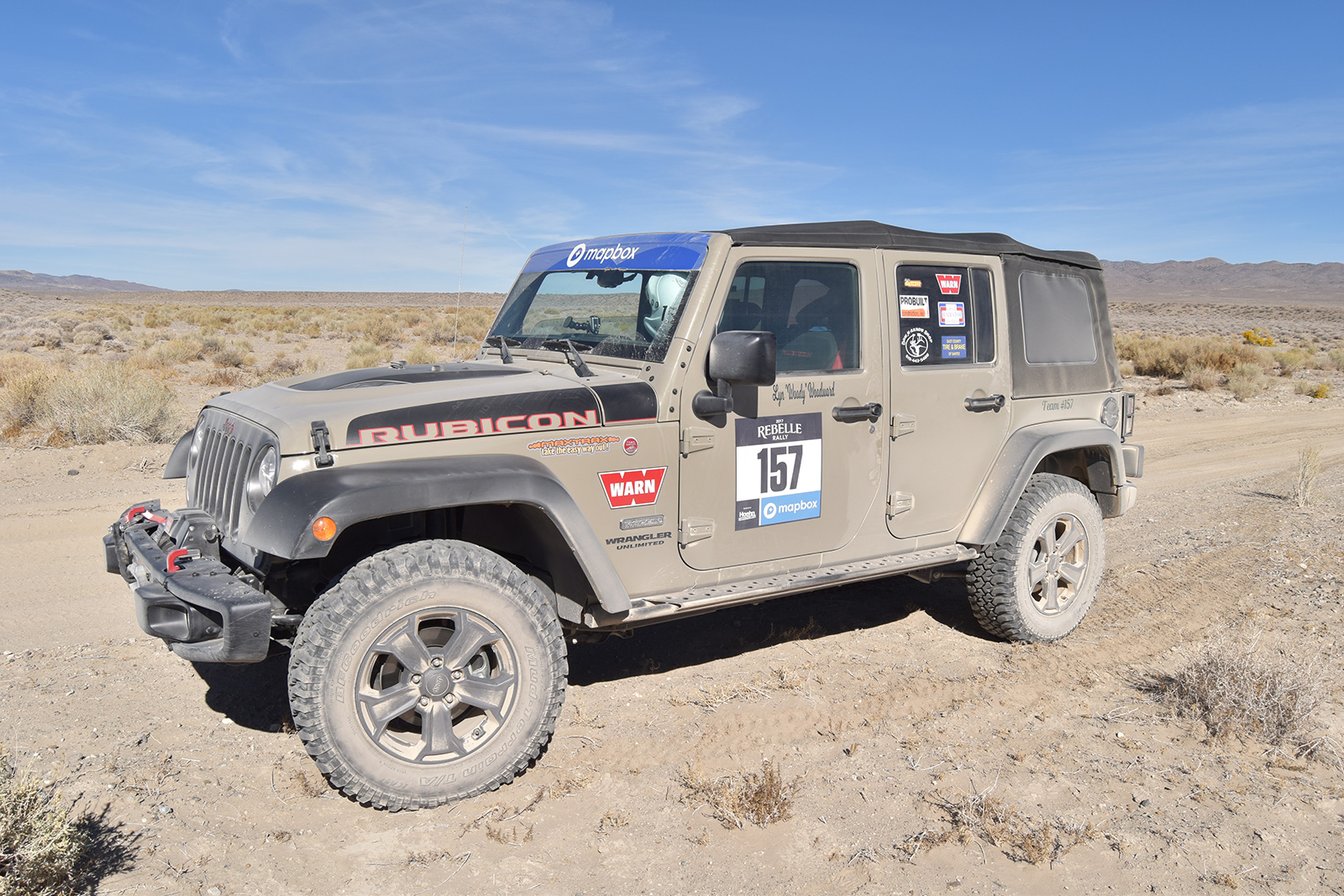 The Rebelle Rally Is A 7 Day 1200 Mile Women Only Gps Free Test Fire 07 Jk Fuse Box Lyn Woodward