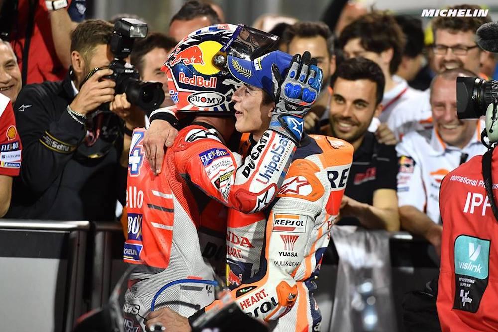 Dovizioso and Ducati Win the 2018 MotoGP Grand Prix of Qatar