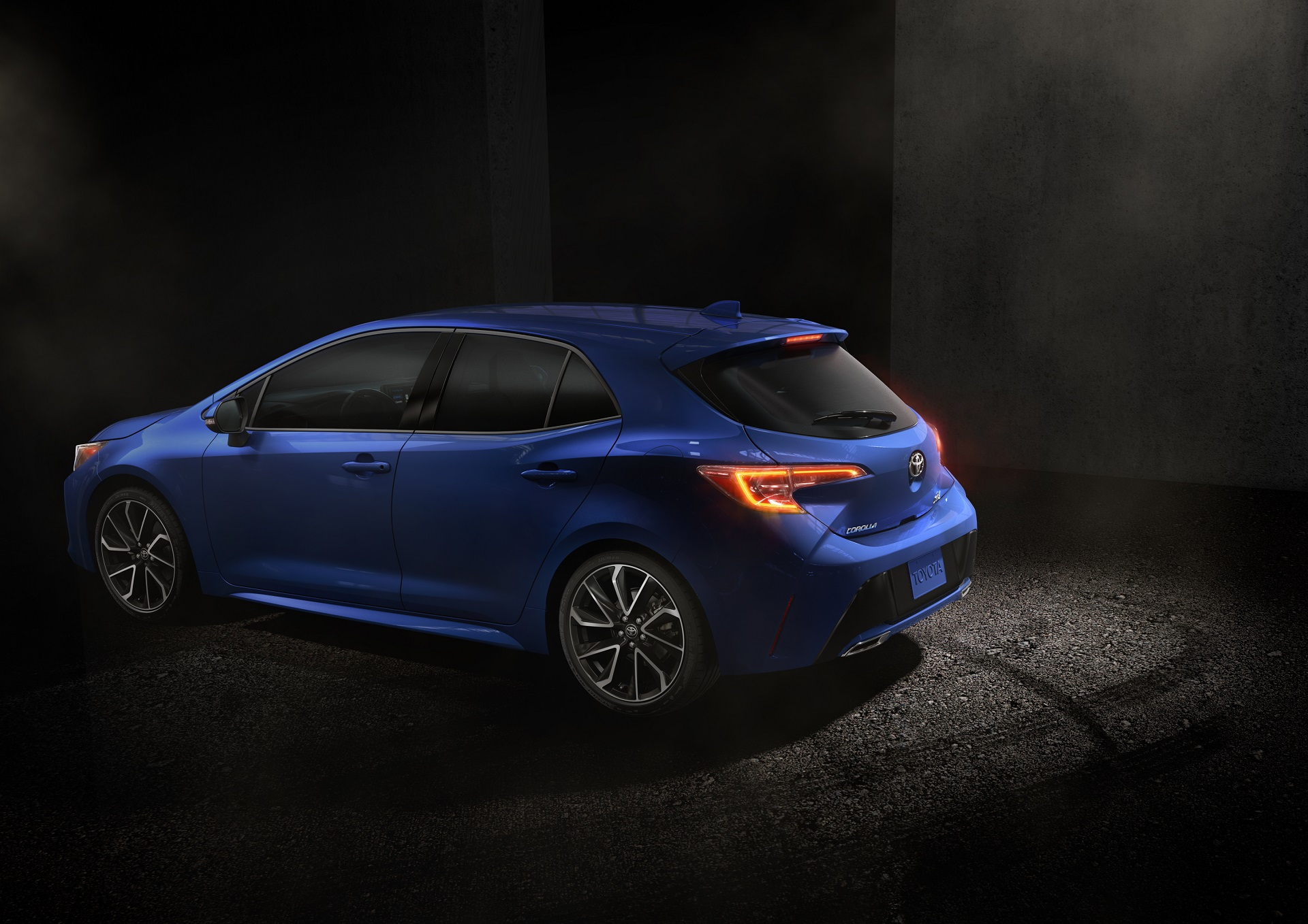 This Is The 2019 Toyota Corolla Hatchback The Drive