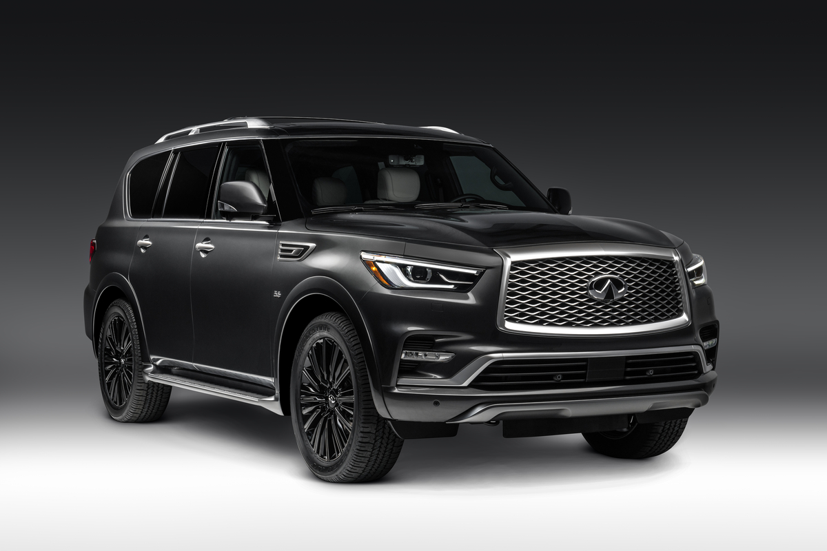 Infiniti Pushes Big Suvs Further Upmarket With New
